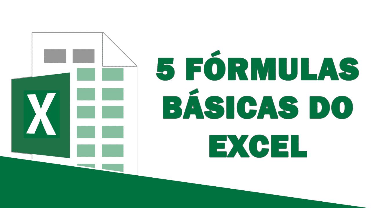 FÓRMULAS BÁSICAS do Excel que você TEM QUE APRENDER