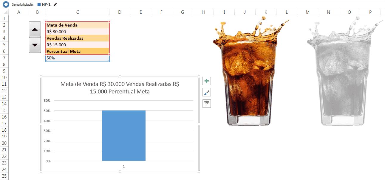Copiando as imagens para o ambiente Excel