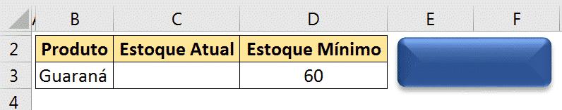 Botão com efeitos e posicionado ao lado da tabela