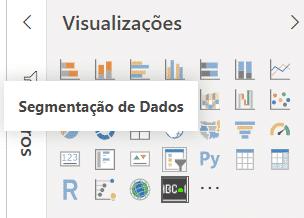 Inserindo a segmentação de dados