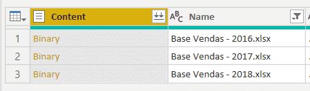 Opção para combinar os arquivos