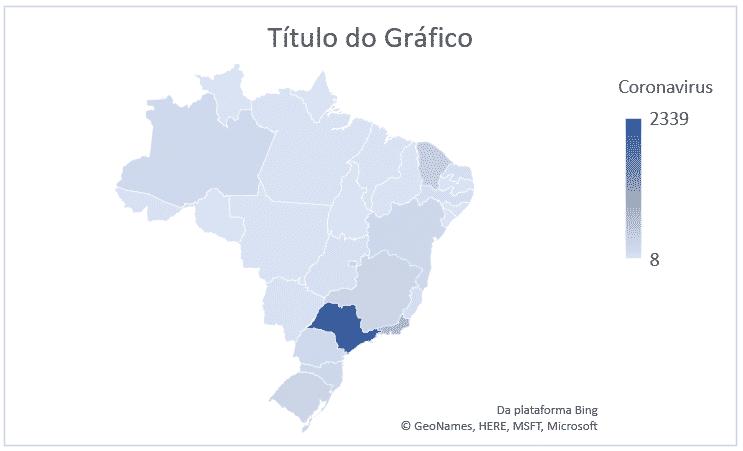 Gráfico de Mapa