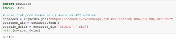 O que é uma API