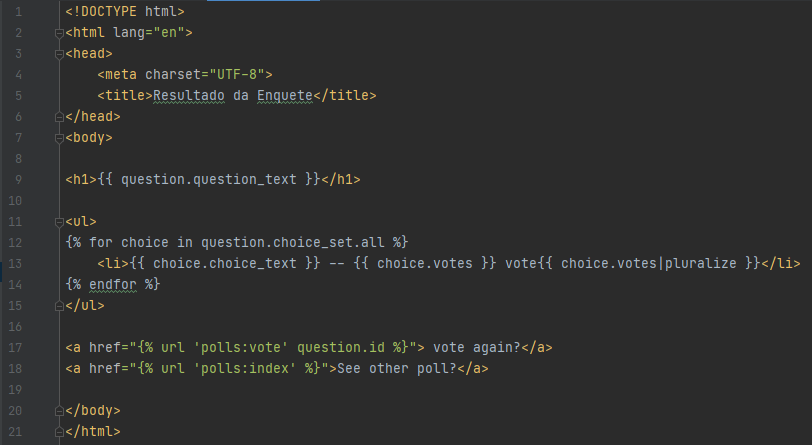 Django no Python
