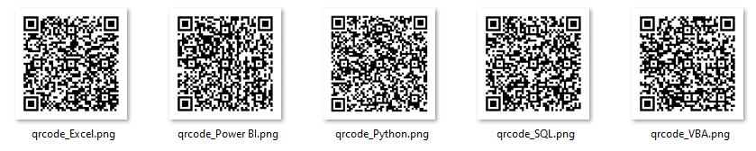 QRCode e Código de Barra