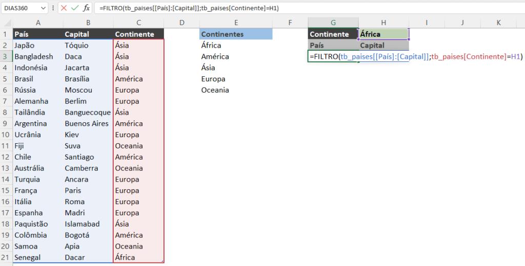 Funções Novas do Excel