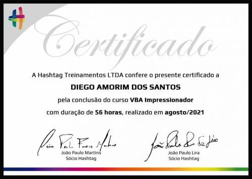 Certificado VBA