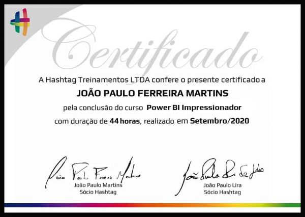 curso power bi com certificado
